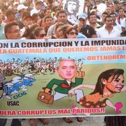 Crecen protestas contra la corrupción en el gobierno